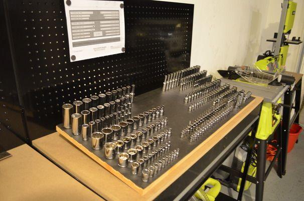 Socket Drawer Magnetic Organizer
