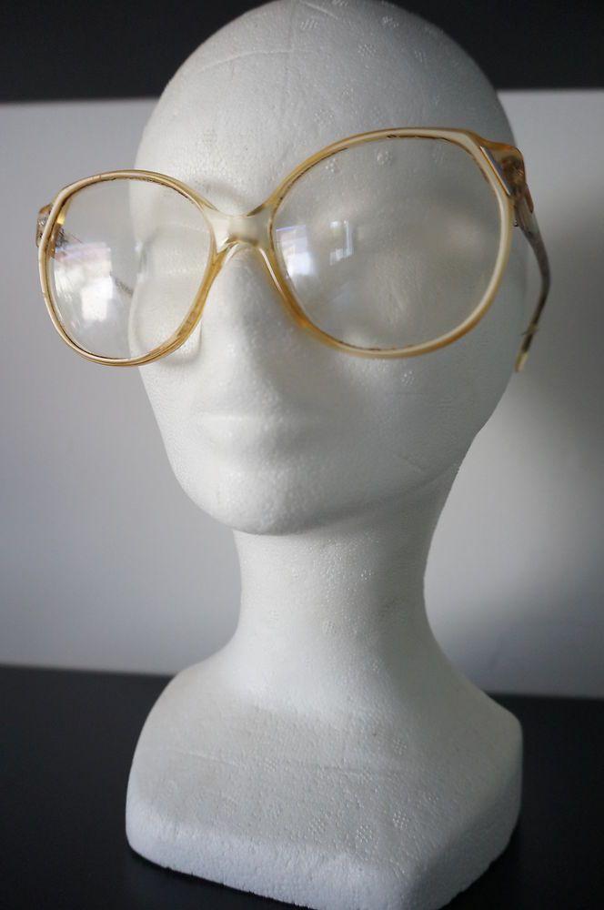 monture lunettes de soleil Ou vue Vintage vTG 70 oversized gEek Secretary