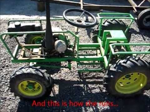 The insides of my Homemade Tractor (Pictures + Video) - YouTube