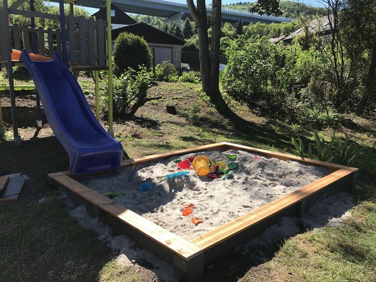 Sandkasten Fur Das Spielhaus Bauanleitung Zum Selber Bauen