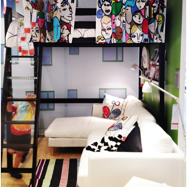 17 best images about small spaces on pinterest tiny apartments studio apartments and ikea - Ikea small spaces bedroom plan ...