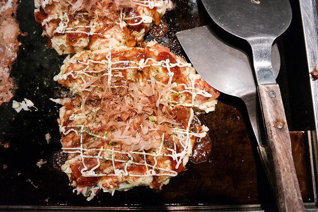 DIY Okonomiyaki @ Nanjya Monjya.