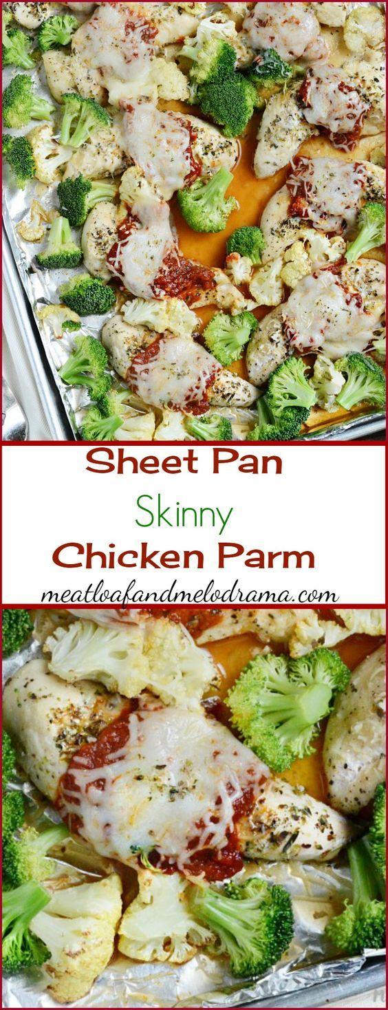 Sheet Pan Skinny Chicken Parm | Recipe