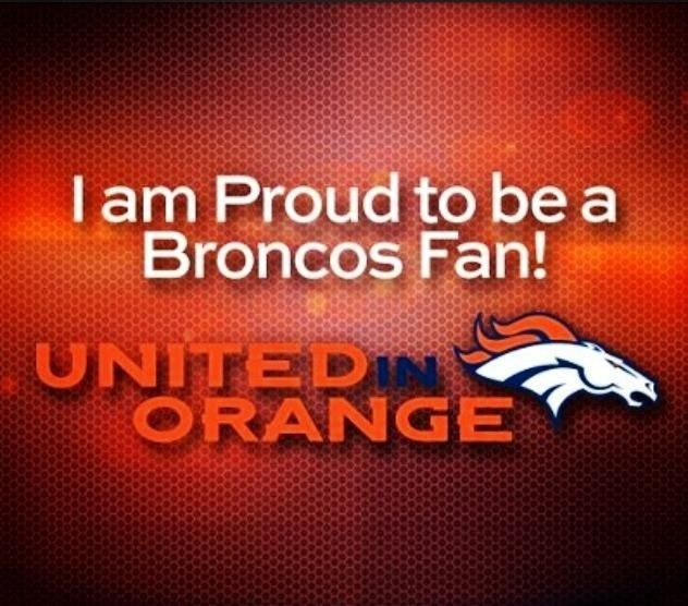 True I once wore a jersey the day after one of their loses which is very few and everybody said something. I told them that they were the best and walked away looking great in a broncos jersey!
