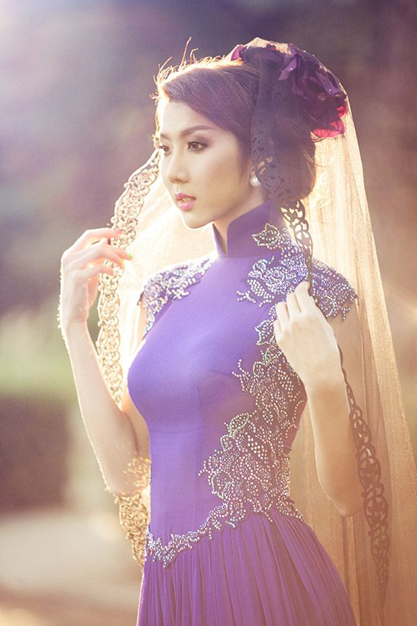 Asian Style Bride but could be a bridesmaids dress