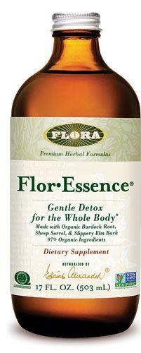 Flora Flor-Essence® Gentle Detox For The Whole Body