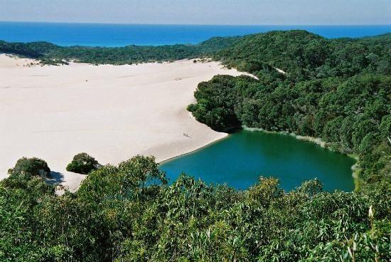 Lake Wabby, Fraser Island #Australia  http://www.tripadvisor.com.au/ShowForum-g255067-i460-Queensland.html