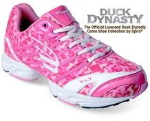 Women's Duck Dynasty Camo Shoe SDD102 (Lateral Angle). $59.95