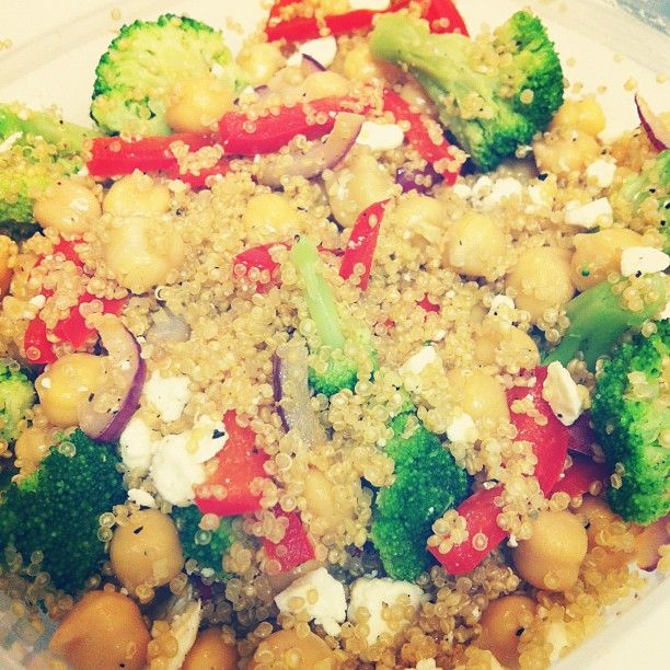 Steph_Clegs' Loaded Quinoa Bowl, a Clean Eating favorite! Check out ...