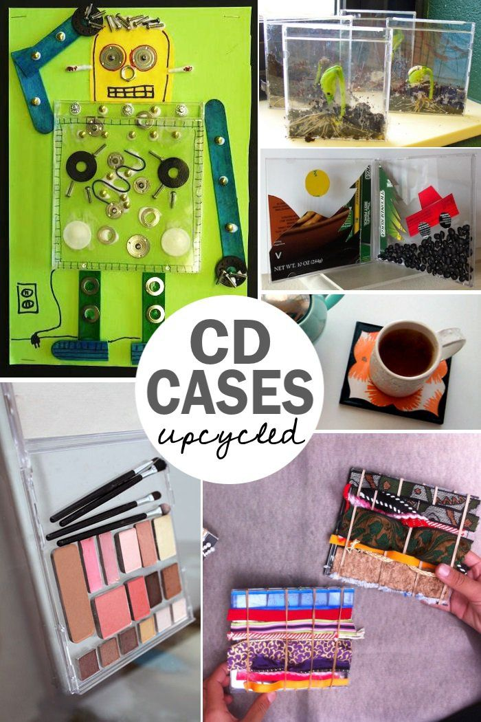 All the things you didn't know you could do with a CD case! - One Crazy House