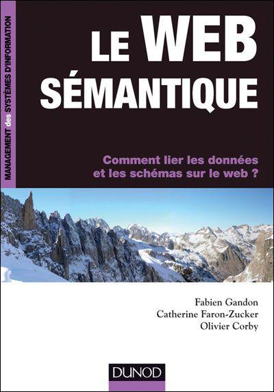 Couverture Livre Web Sémantique chez Dunod