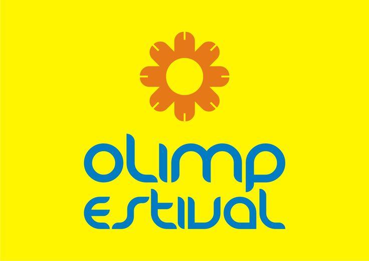 logo for Olimp Estival Romania, design by Victor Calomfir