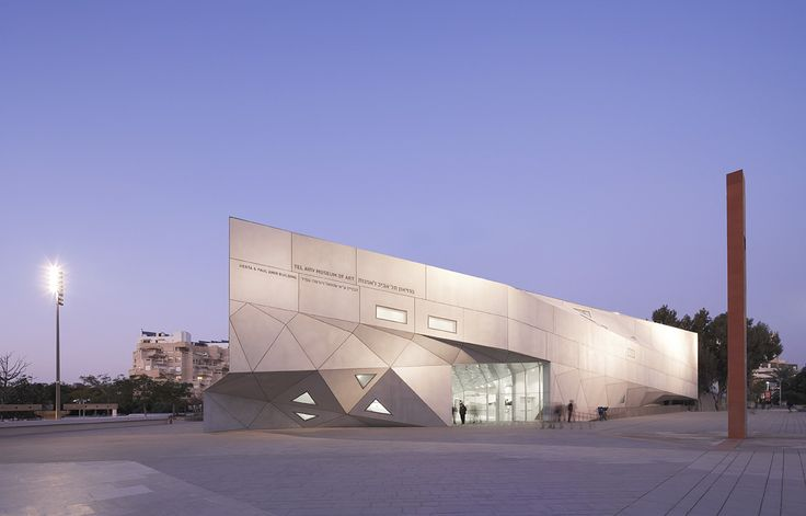 Tel Aviv Museum of Art : Israel's largest art museum with a large collection of permanent exhibits as well as temporary exhibits.