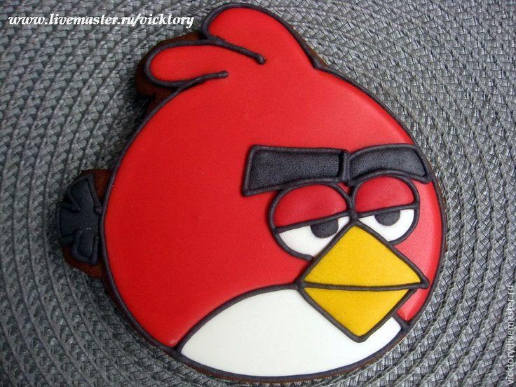 Купить Расписные пряники козули Angry Berds для детских праздников - angry birds…