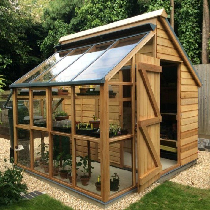 Shed Plans Greenhouse Storage Shed Combi From Greenhousemegasto Now You Can Build Any Shed In A Garden Shed Diy Greenhouse Shed Small Backyard Landscaping