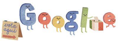 Doodleando, Los Logos de Google: Elecciones en México 2015.