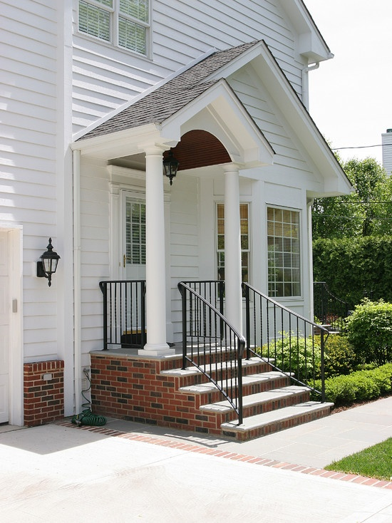 39 best images about portico inspiration on pinterest for Portico porch designs