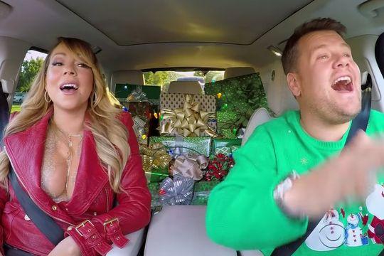 Mariah Carey et James Corden vous souhaitent un joyeux Noël en musique [VIDEO]