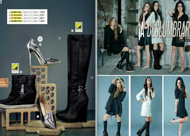 Digital Andrea 2015 calzado juvenil OI