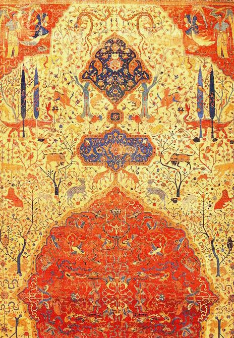 18 best Persian carpets with garden motifs images on Pinterest ...