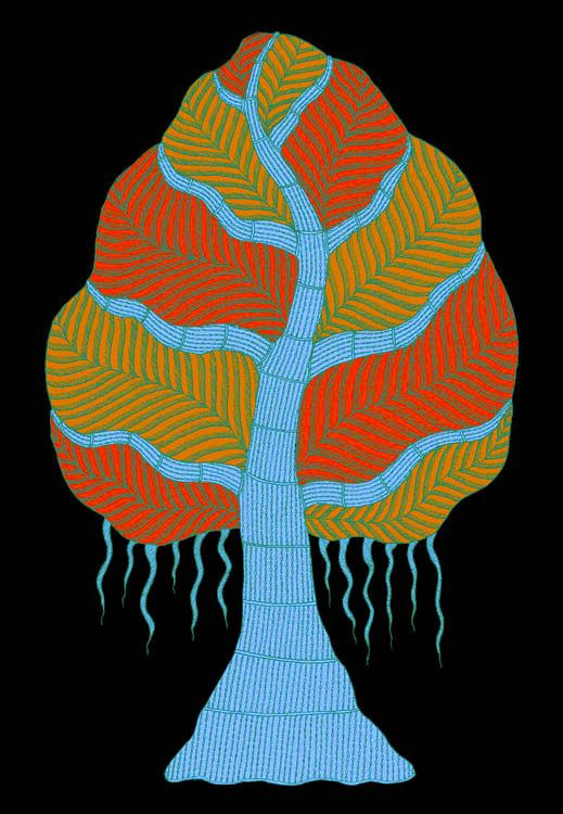 The Night Life of Trees from Tara Books. Drawings from Gond Tribe artists of Central India. I love this book!