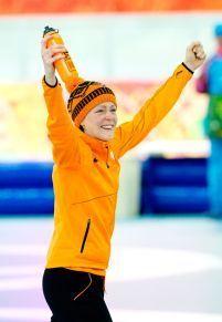 Jorien ter Mors ~ 2 Gold Medals at 2014 Sochi Winter Olympics (1,500m & Team Pursuit) #Skating #JorienterMors #Netherlands