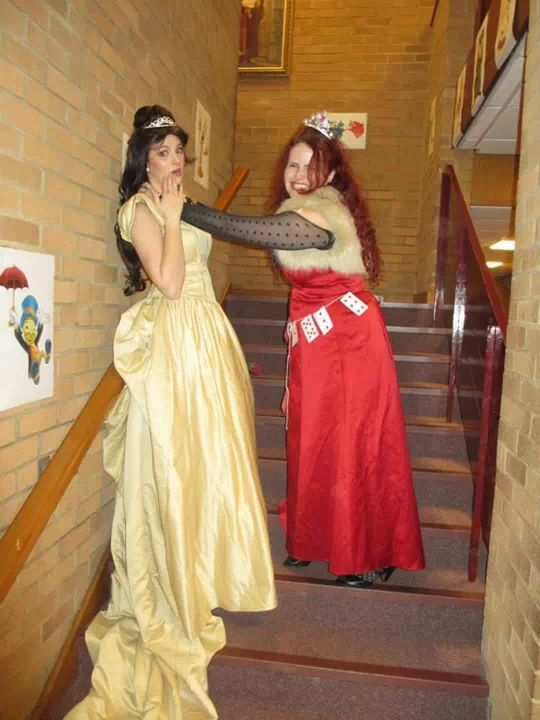 The Queen of Hearts shows mercy to no-one... Not even the birthday girl!