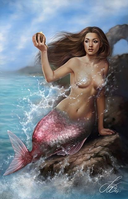 Mermaids Ocean Sea: Mermaid.
