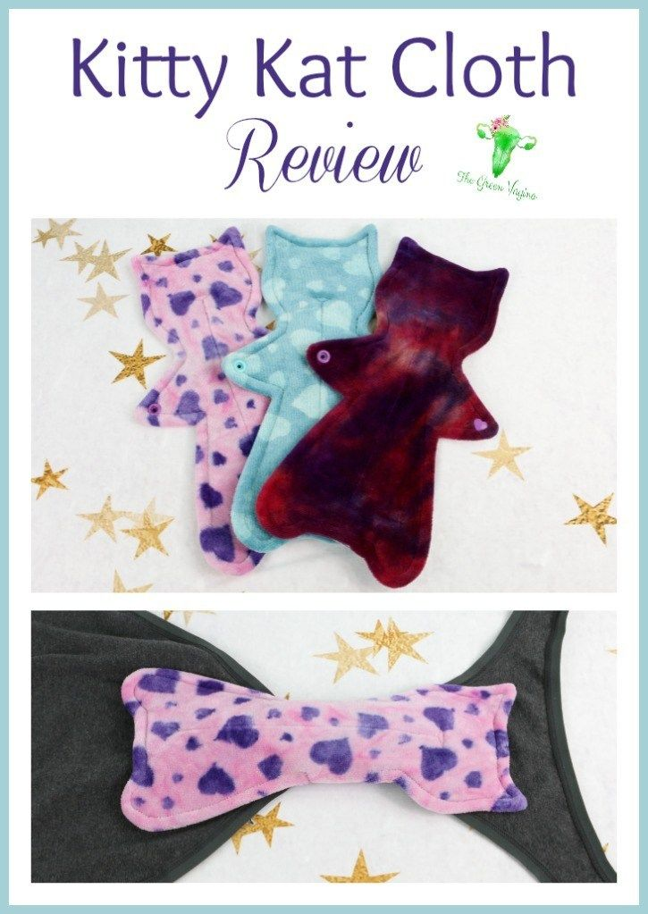 Kitty Kat Cloth Pads Review Cat Shaped Cloth Pads Cloth Pads