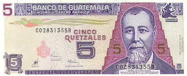 moneda guatemalteca: Guatemalan quetzal