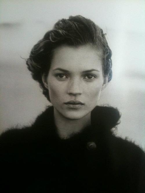 Kate Moss by Edward Steichen