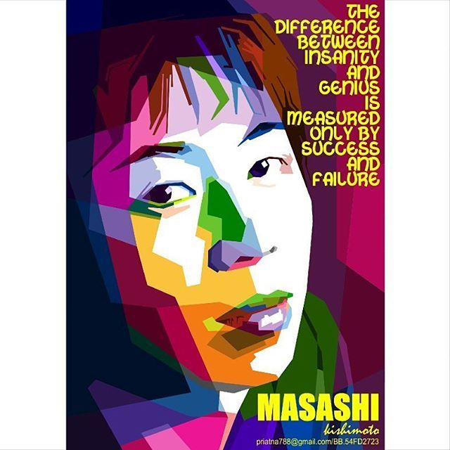 The difference between insanity and genius is measured only by success and failure  Perbedaan antara kegilaan dan jenius diukur hanya dengan keberhasilan dan kegagalan  #KishimotoMasashi  #岸本斉史  #Kishimoto #Masashi #岸本#斉史 #masashikishimoto #naruto #dunianarutoindonesia #sasuke_uchiha #_narutolovers_ #uzumakinardo #naruto_uzumaki #naruto.kun #shonenjump #manga #komik #cosplay #wpap #popart #vector #design #bestvector #coreldraw #inkscape #wpapskintone