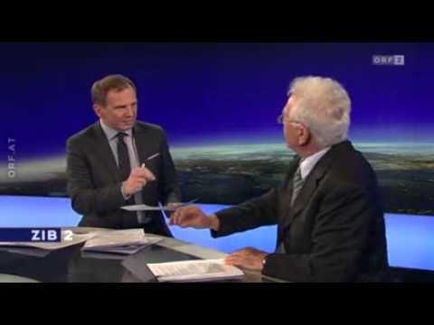 Skurril: Stronach bei Armin Wolf