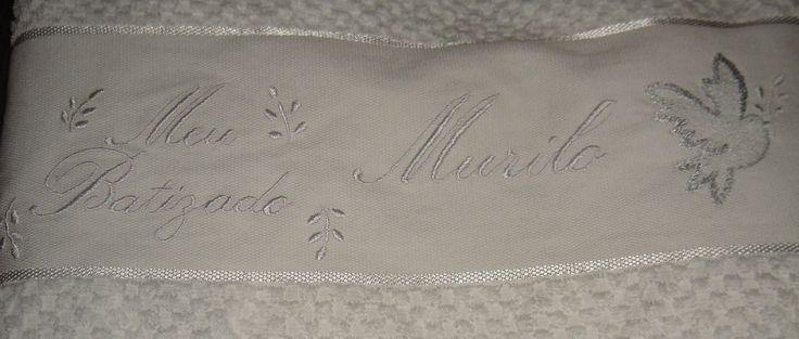 Resultado de imagem para toalhas de batismo bordadas