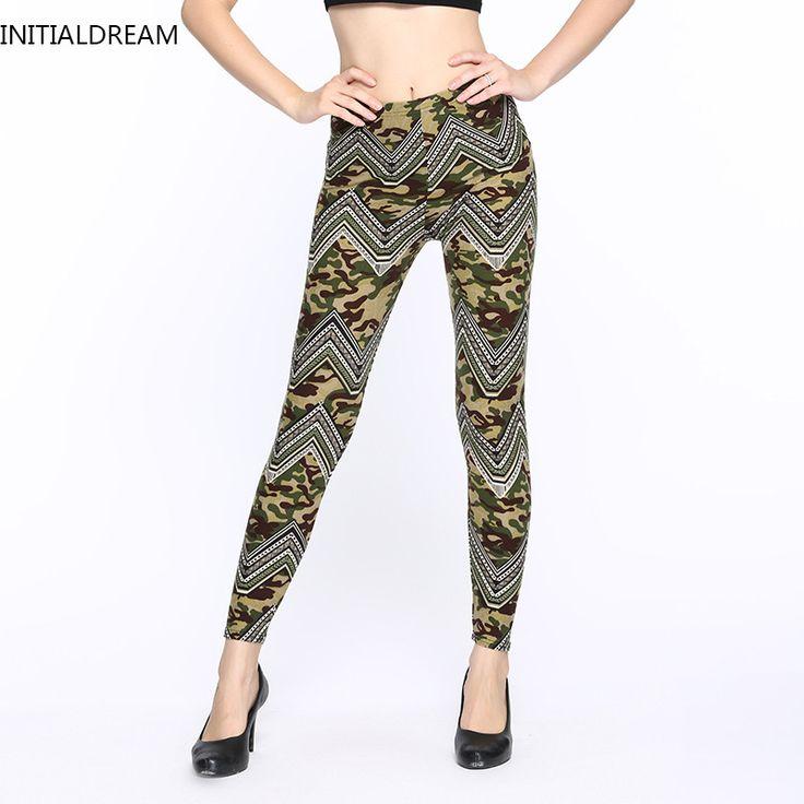 leggings fitness Camouflage women print leggings Trouser Army Pants