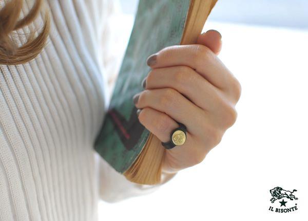 【楽天市場】IL BISONTE イルビゾンテ コンチョ レザーリング・5422305497(全10色)(unisex):Crouka(クローカ)