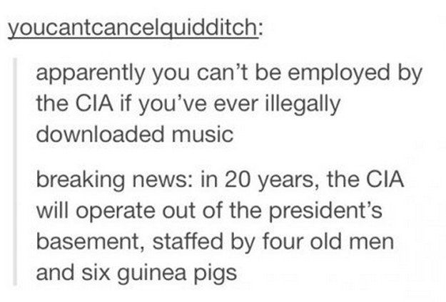 This devastating realization about the future of our country's security: | 21 Times Tumblr Was So On Point About Music