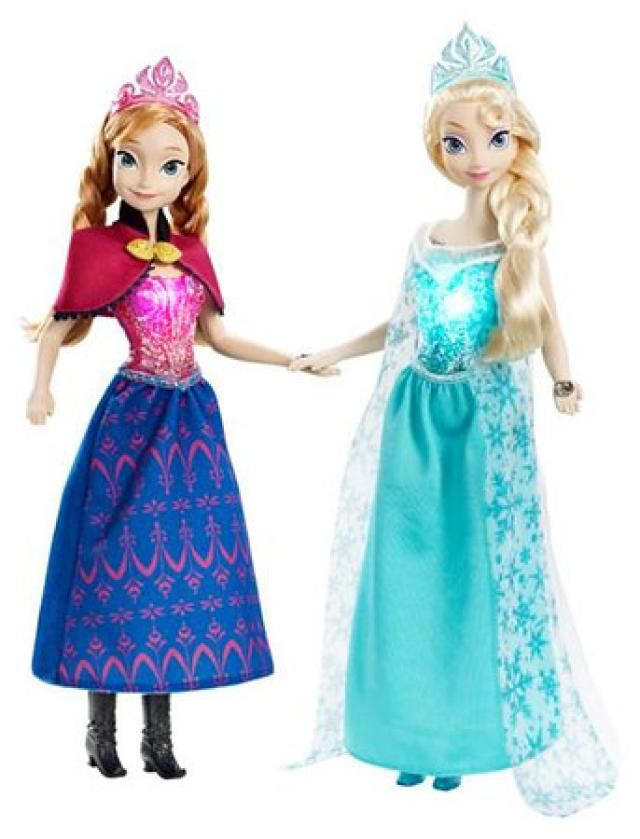 Here are 11 Must-Have Frozen Toys, Castles and Dolls: Disney Frozen Musical Magic Elsa and Anna