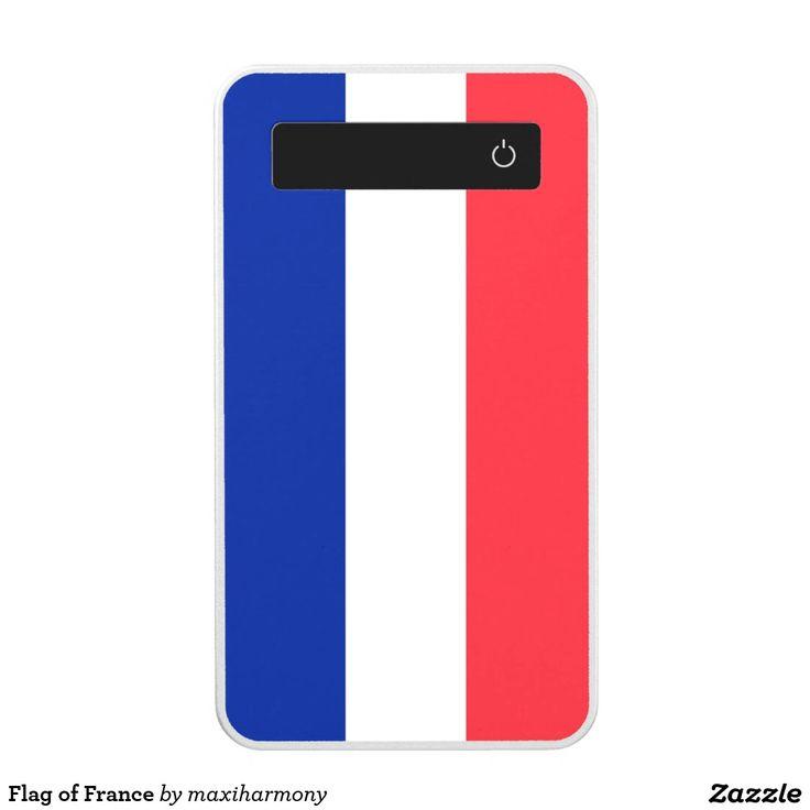 Flag of France Power Bank