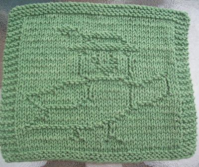 DigKnitty Designs: Chicky Knit Dishcloth Pattern ...