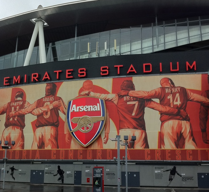 Gooner's holy place.