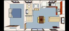 converting a one car garage into studio apartment - Google Search