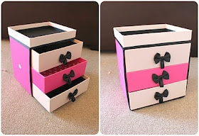 beauty box turn on make up storage !