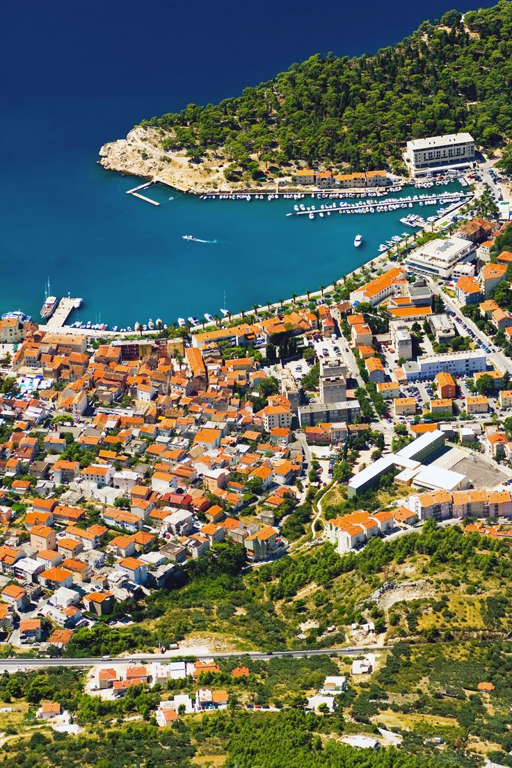 The city of #Makarska #Croatia.