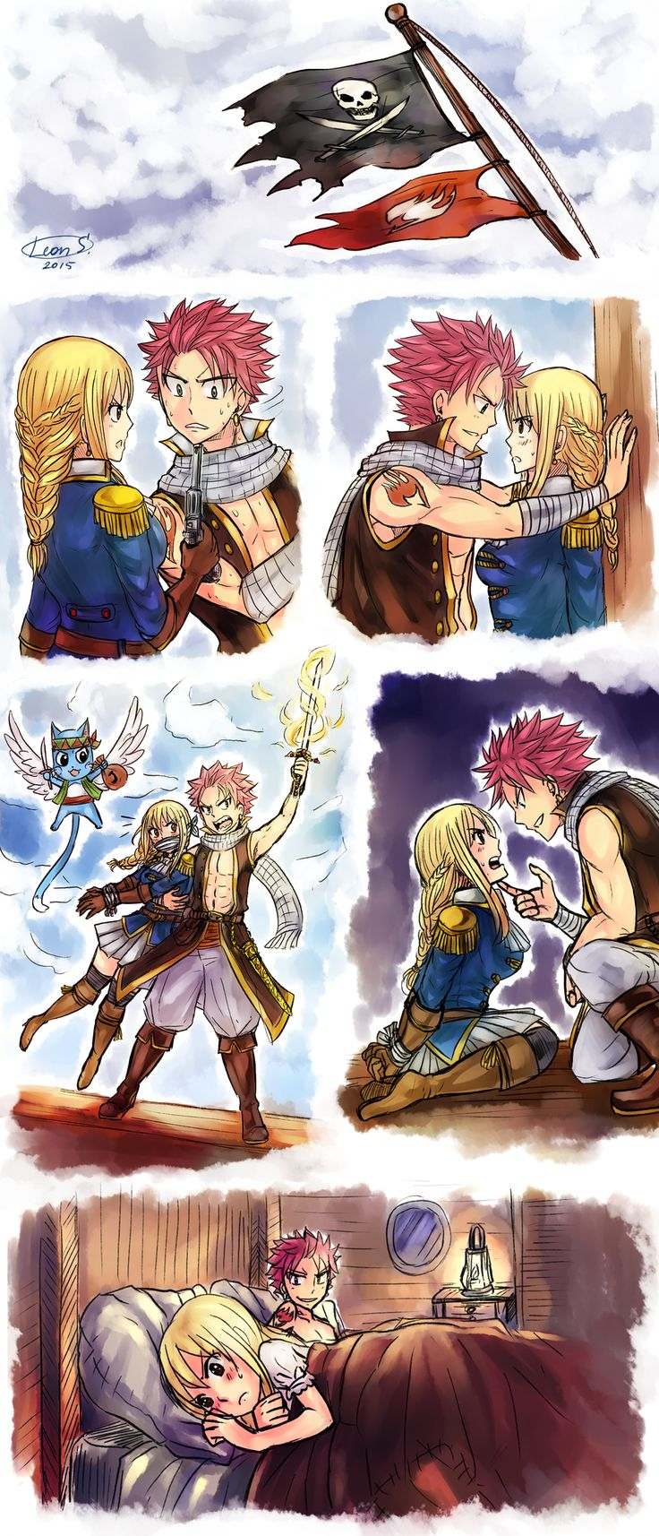Au pirates nalu 2 by leons on - Jeu de fairy tail gratuit ...