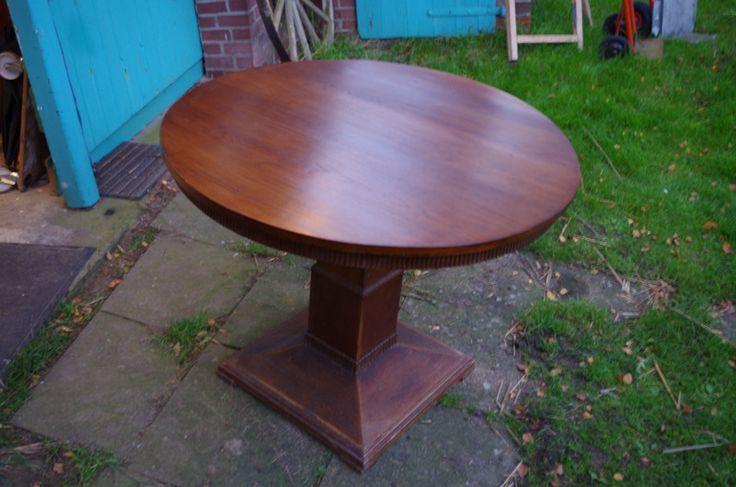 Möbel – Hamburg Esstisch Runder Tisch rund antik – ein