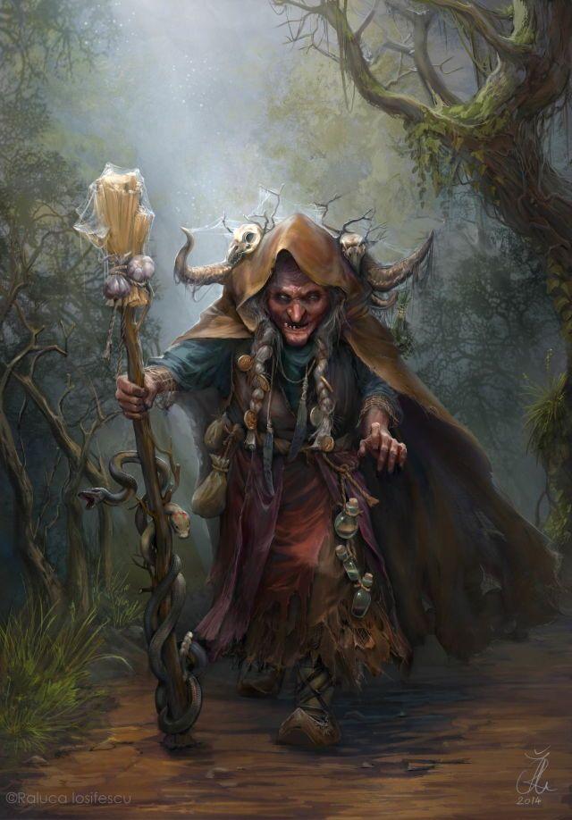 La bruja del bosque.                                                                                                                                                                                 Mais