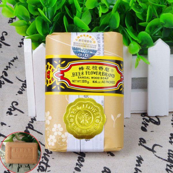 25g Mini Sabun Lebah Bunga Cendana Jerawat Sabun Mandi Menghapus Paket Perjalanan Toilet Sabun Tungau HB88