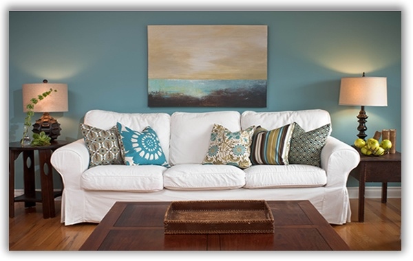 Teal And Brown Living Dining Rooms Home Decor Wall Art Room Green