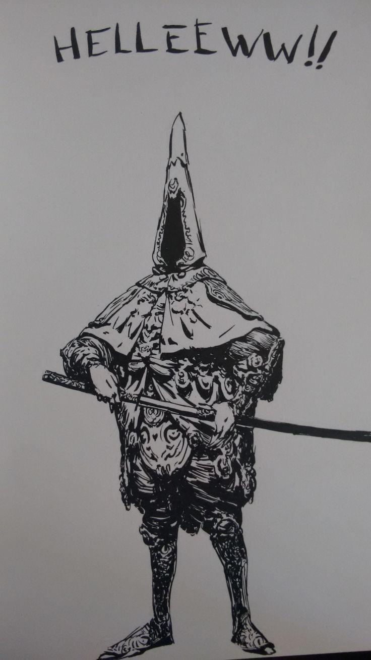 "Sketchbook 3-1 by Joao ""Ricardo"" on ArtStation. I RETURN AGAIN, FOR ANOTHER INFINIDAGGER ADVENTURE."
